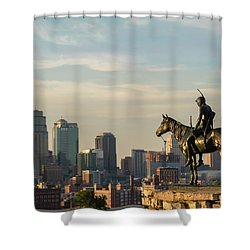 Kc Scout Shower Curtain