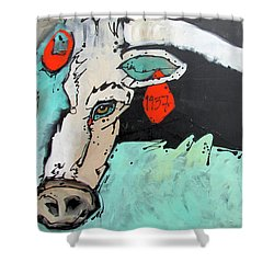 Kcr Longhorn 1937 Shower Curtain