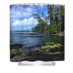 Keaukaha  Shower Curtain