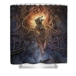 Kebechets Rebirth Shower Curtain
