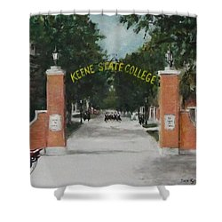 Keene State College Shower Curtain by Jack Skinner