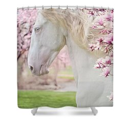 Keep Calm Spring Is Coming Shower Curtain