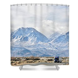 Keep On Trucking Shower Curtain