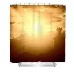 Keep Shining On Shower Curtain