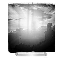 Keep Shining On II Shower Curtain