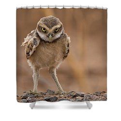 A Bit Of Attitude Shower Curtain
