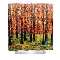 Keeping Score Shower Curtain