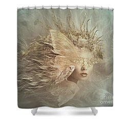 Keeping Watch Shower Curtain