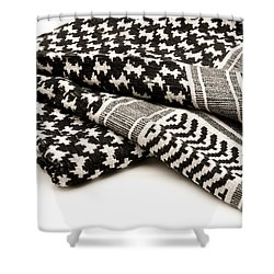 Keffiyeh Shower Curtain