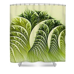 Kelp Towers Of The Fractal Sea Shower Curtain