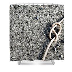 Kelpic Knot Shower Curtain