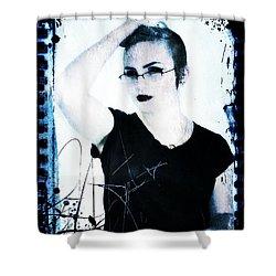 Kelsey 2 Shower Curtain by Mark Baranowski