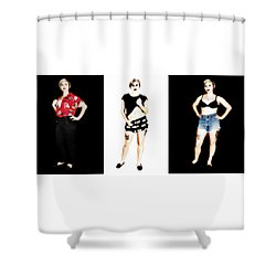 Kelsey 4 Shower Curtain