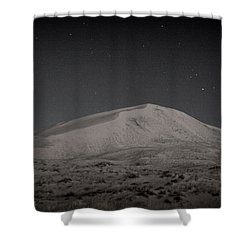 Kelso Dunes At Night Shower Curtain
