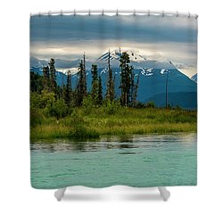 Shower Curtain featuring the photograph Kenai by Gary Lengyel
