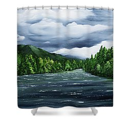 Kenai Shower Curtain