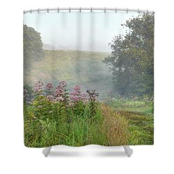 Kendall Hills Fog Shower Curtain
