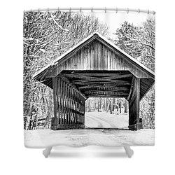 Keniston Covered Bridge  Shower Curtain