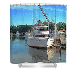 Kennebunk, Maine - 2 Shower Curtain