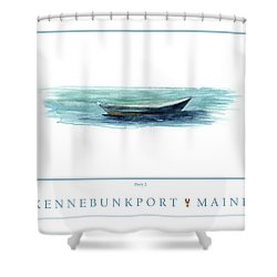 Kennebunkport Dory 2 Shower Curtain