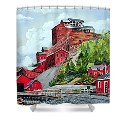 Kennecott Shower Curtain