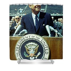 Kennedy At Rice University Shower Curtain