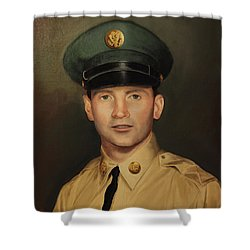 Kenneth Beasley Shower Curtain by Glenn Beasley