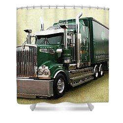 Kenny B Shower Curtain