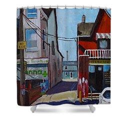 Kensington Market Laneway Shower Curtain