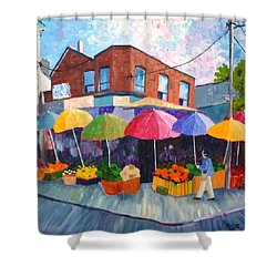 Kensington Market Shower Curtain