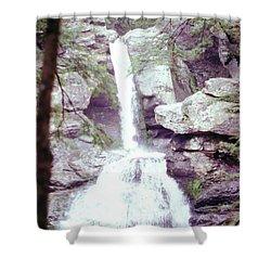 Kent Falls 3 Shower Curtain