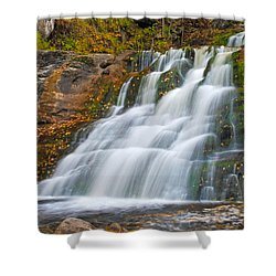 Kent Falls Shower Curtain by David Freuthal