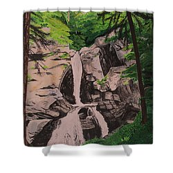 Kent Falls Shower Curtain