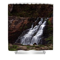 Kent Falls Shower Curtain by Karol Livote