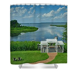 Kent Island Shower Curtain