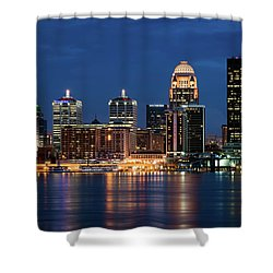 Kentucky Blue Shower Curtain