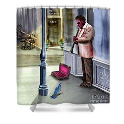Kentucky Blue Bird Shower Curtain