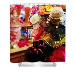 kentucky Derby Hats Shower Curtain