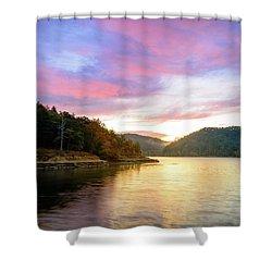 Kentucky Gold Shower Curtain