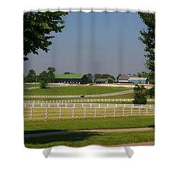 Kentucky Horse Park Shower Curtain