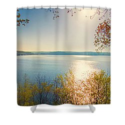 Kentucky Lake Shower Curtain by Ricky L Jones