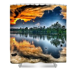 Kentucky Sunset June 2016 Shower Curtain