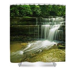 Kentucky Waterfalls Shower Curtain