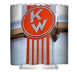 Kenworth Insignia Shower Curtain