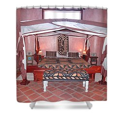 Kenyan African Traditional Double Bed Shower Curtain