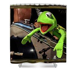 Kermit In Model T Shower Curtain