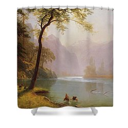 Kern S River Valley California Shower Curtain
