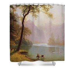 Kern S River Valley California Shower Curtain