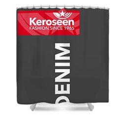 Keroseen Fashion Since 1965 Shower Curtain by Nop Briex
