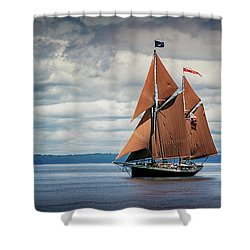 Ketch Angelique Shower Curtain